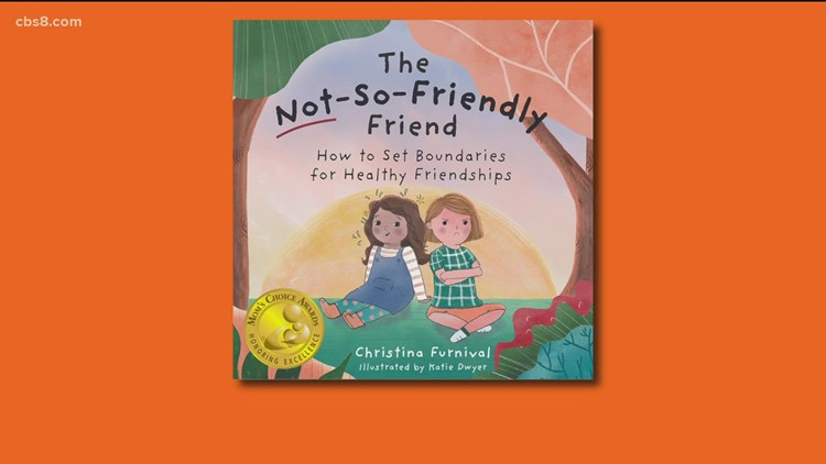 New book teaches kids how to find the right friends