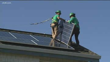 Debate over changing rooftop solar rules in California