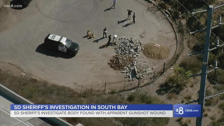 Body found with apparent gunshot wound near Bonita area