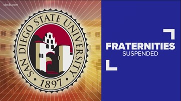 SDSU suspends 14 fraternities amid investigation