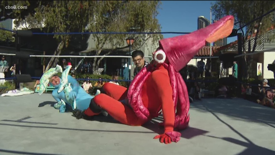 'Climate Clash' wrestling match takes place at Seaport Village