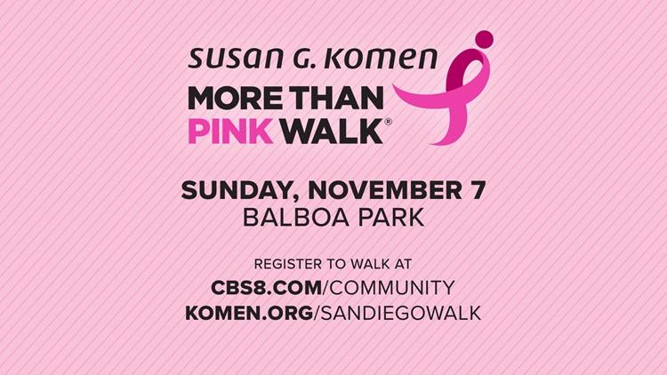 """""""More Than Pink Walk"""" is back at Balboa Park"""