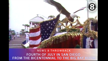 News 8 Throwback: Fourth of July in San Diego from the Bicentennial to the Big Bay Boom
