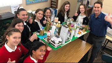 The 'Perfect City' of the future through the eyes of 8th graders