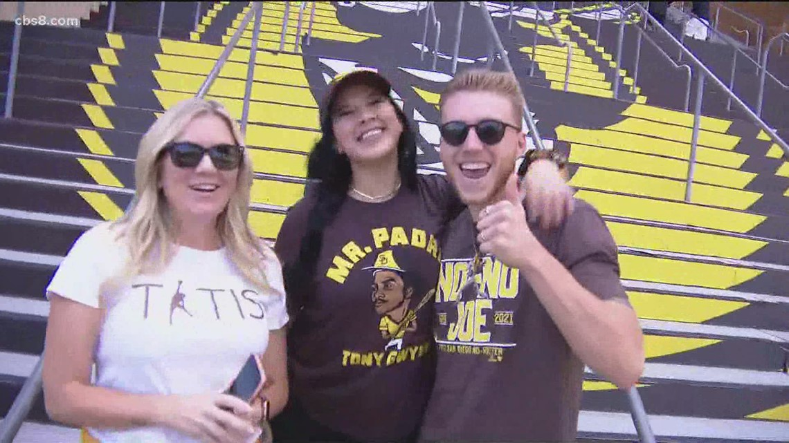 Padres fans share excitement for Petco Park's Reopening Day