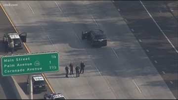 Southbound I-5 in South Bay reopens after pursuit