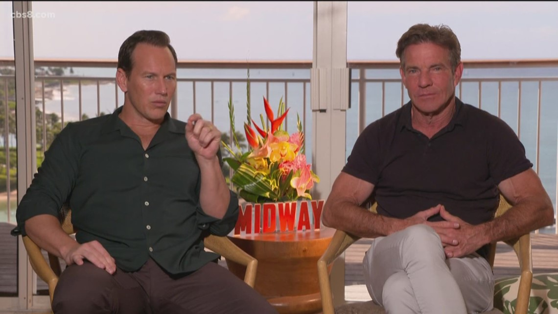 'Midway' actors talk about importance of playing characters with such historical significance