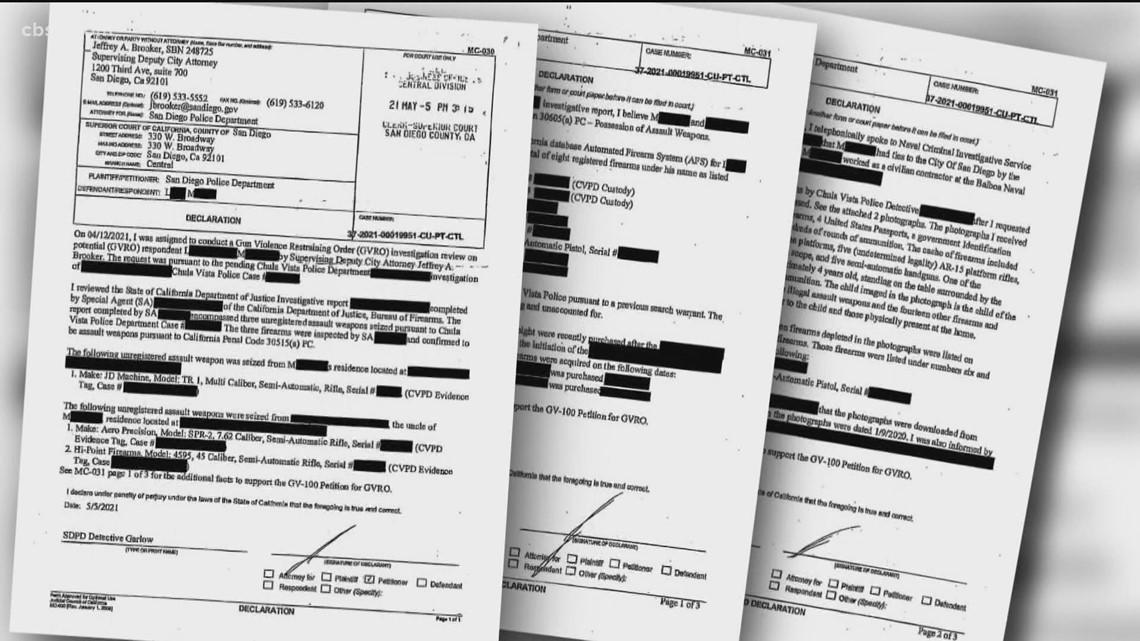 SD city attorney wants Larry Millete gun violence restraining order records kept secret