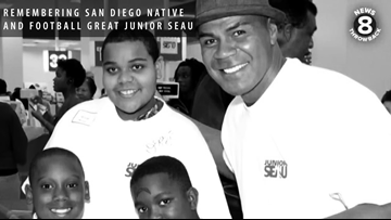Remembering San Diego native and football great Junior Seau