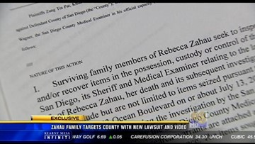 Zahau family targets County with new lawsuit and video | cbs8 com