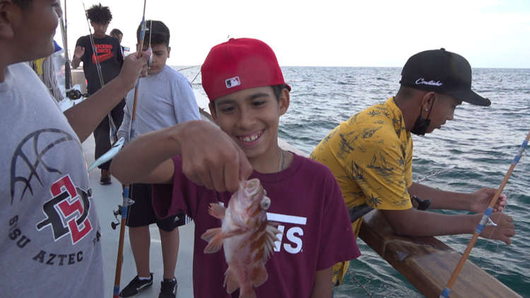 Hook, line and sinker: South Bay kids out on the water