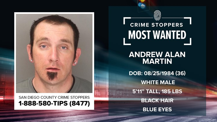 Crime Stoppers Most Wanted: Andrew Alan Martin