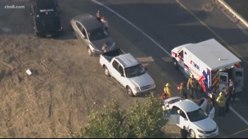 CHP officer, suspect killed in shootout on the 215 freeway