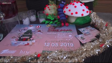 'Tree of Dreams' holiday fundraiser to benefit Rady Children's Hospital in San Diego