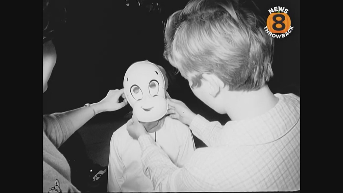 Halloween in San Diego 1966