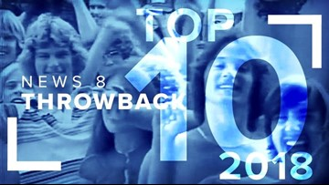 Top 10 News 8 Throwback videos of 2018