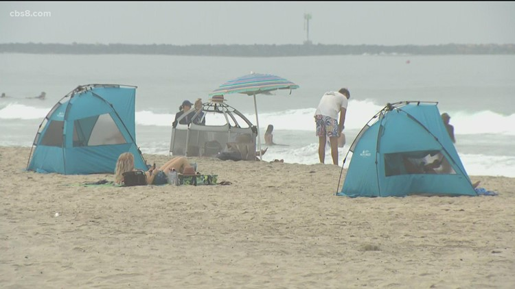 Large beach crowds expected in San Diego on Labor Day