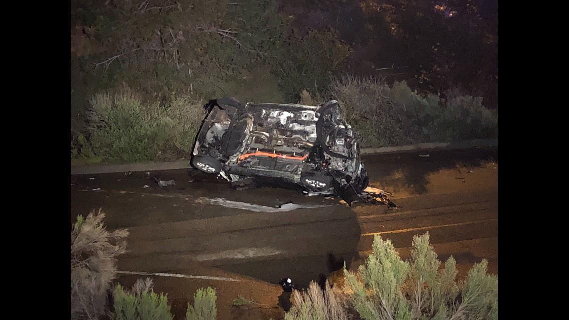 Man killed in fiery crash off San Diego freeway in Miramar Ranch