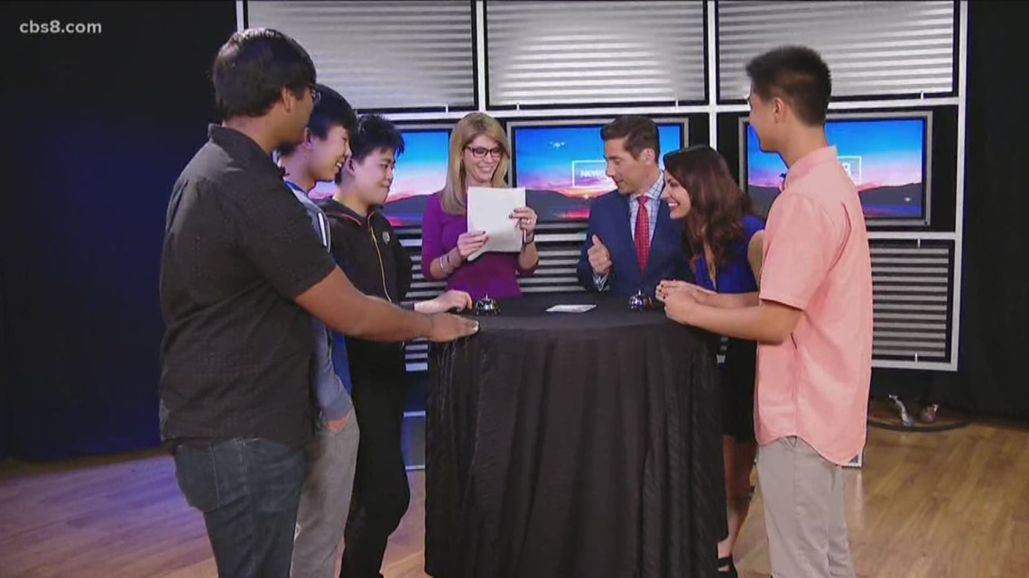 San Diego team will compete in national quiz bowl