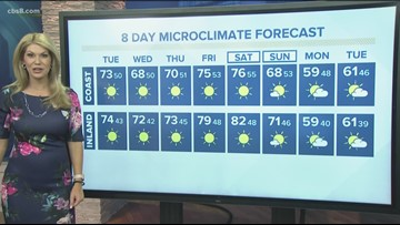 MicroClimate Forecast Tuesday Jan. 28, 2020 (Morning)