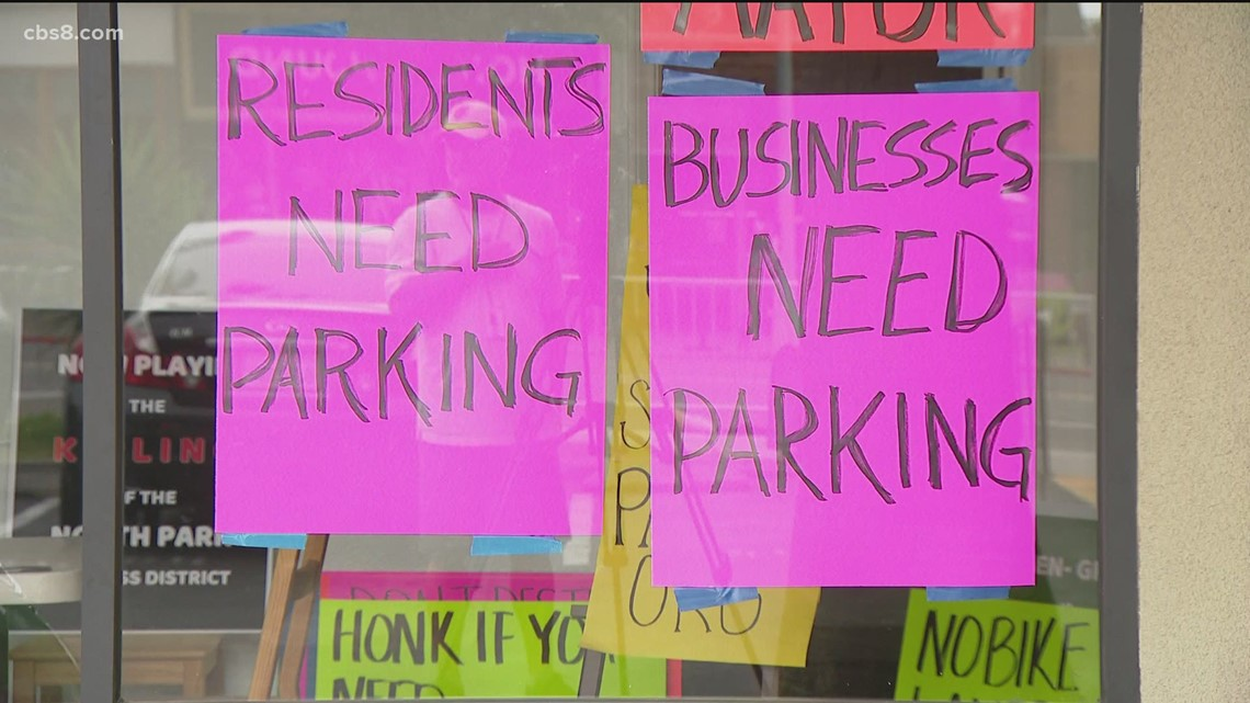 North Park residents fight back over city's plan to get rid of parking for new bike lanes