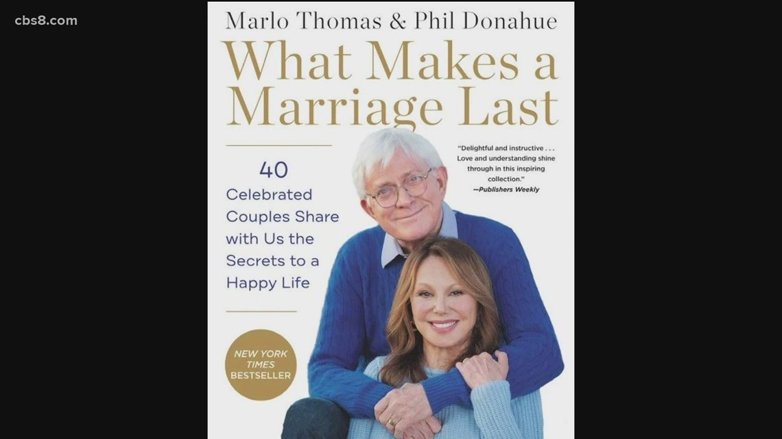 Phil Donahue's talks about new book, 'What Makes a Marriage Last'