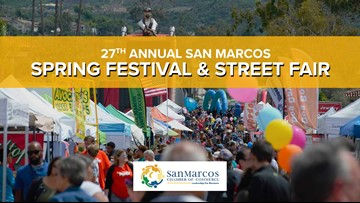 Celebrate spring this weekend at the 27th Annual San Marcos Spring Festival & Street Fair