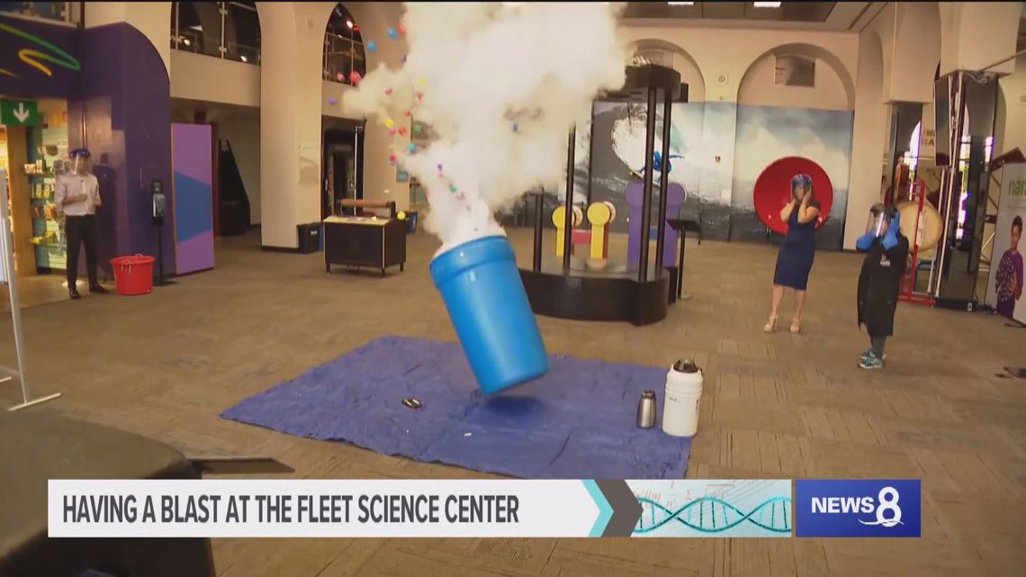 Fun, educational experiment at San Diego's Fleet Science Center in Balboa Park
