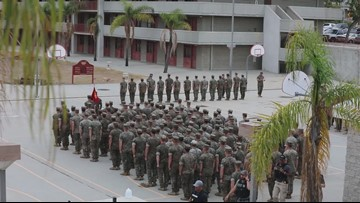 6 Camp Pendleton Marines plead guilty, 13 agree to removal from Marines
