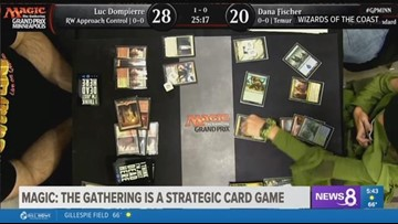 Magic: The Gathering's 8-year-old card shark