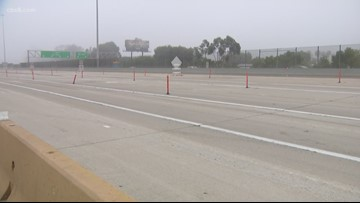New lanes added at I-5 for San Ysidro Border Crossing Expansion