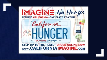 John Lennon 'Imagine No Hunger' license plates to benefit California food banks