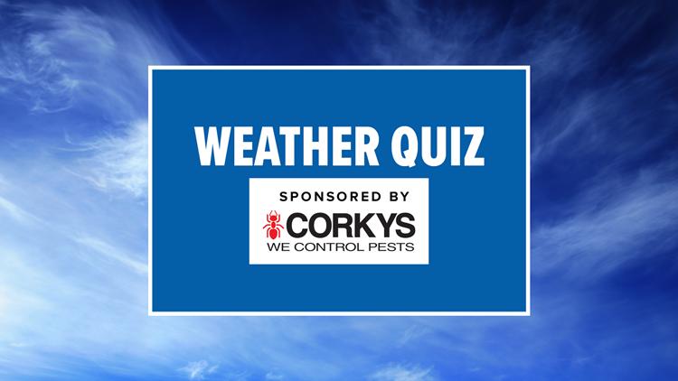 News 8's Weather Quiz Contest
