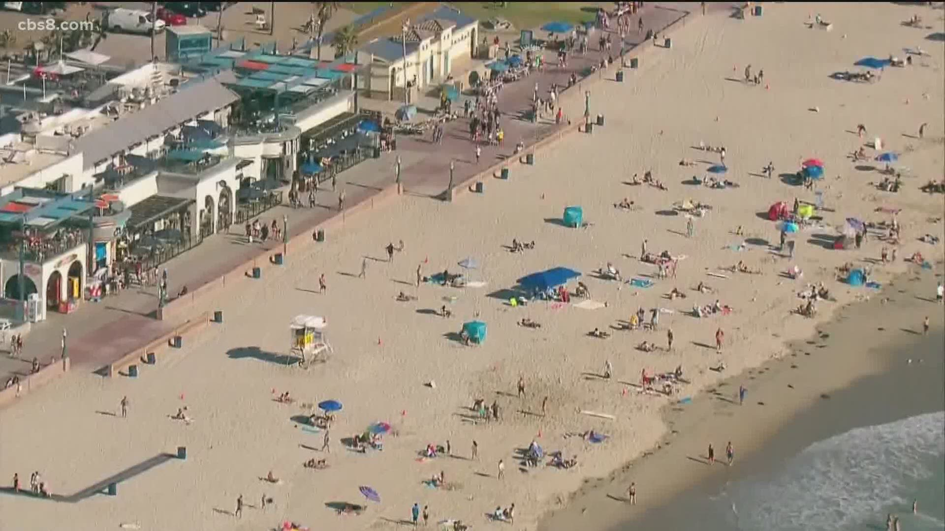 Are San Diego Beaches Going To Be Crowded Due To Covid 19 Cbs8 Com