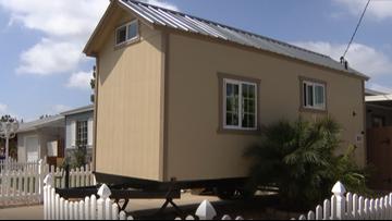 El Cajon man surprises wife by building tiny home