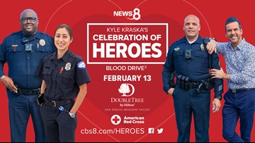 The 2nd annual Celebration of Heroes Blood Drive was a huge success!