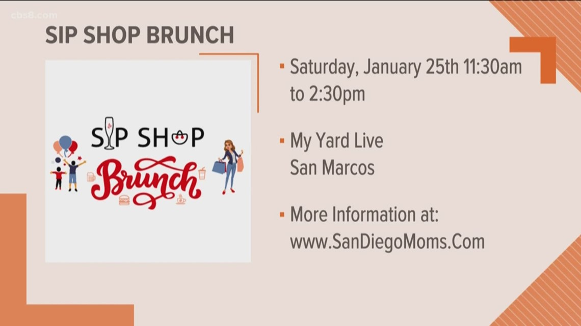 Sip, Shop, Brunch and support mom businesses
