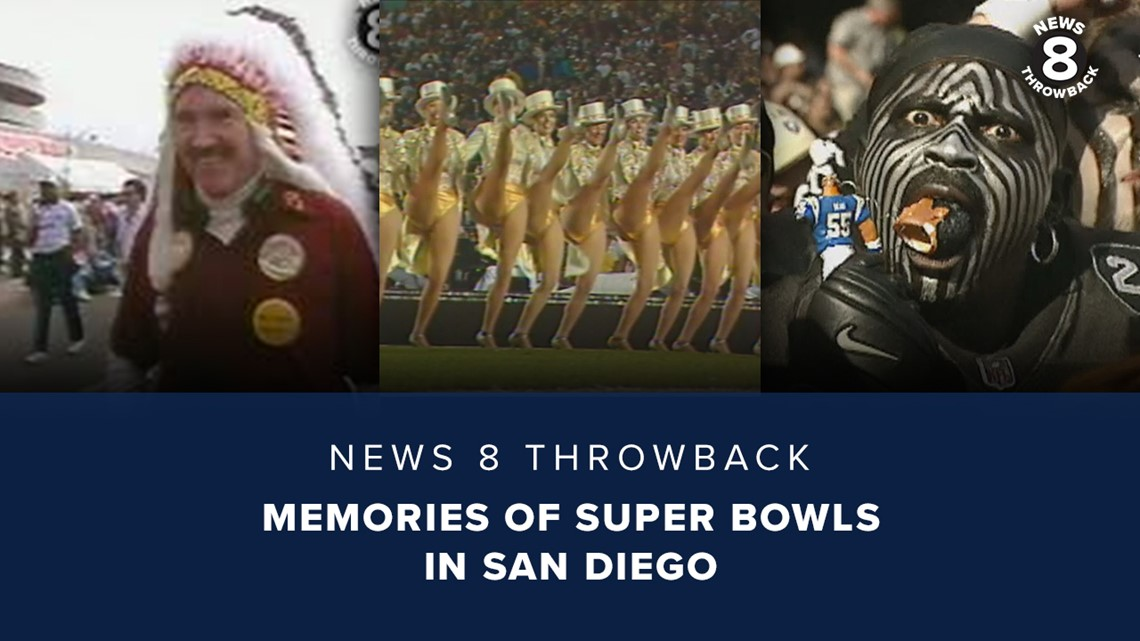 News 8 Throwback: Memories of Super Bowls in San Diego