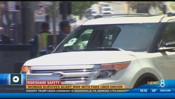 Rideshare Safety: Woman survives scary ride with fake Uber
