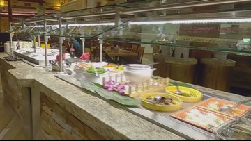 Food waste from Casino buffet is helping to save the planet