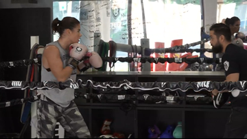 Three-time USA Boxing Champion, Danyelle Wolf, is on track to make history at Tokyo 2020