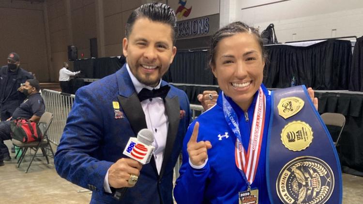 San Diego's 'Lady Tyson' becomes USA boxing champion
