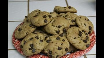 Gluten-free, vegan chocolate chip cookies