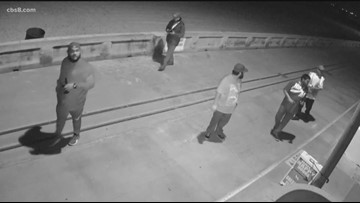 Caught on Camera: Homes along Mission Beach boardwalk spray painted by vandals