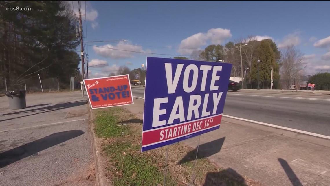 Polls have closed in the Georgia Senate runoff races | both races close