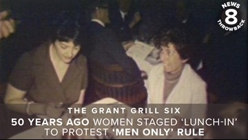 The Grant Grill Six: 50 years ago women staged 'lunch-in' at San Diego restaurant to protest 'men only' rule