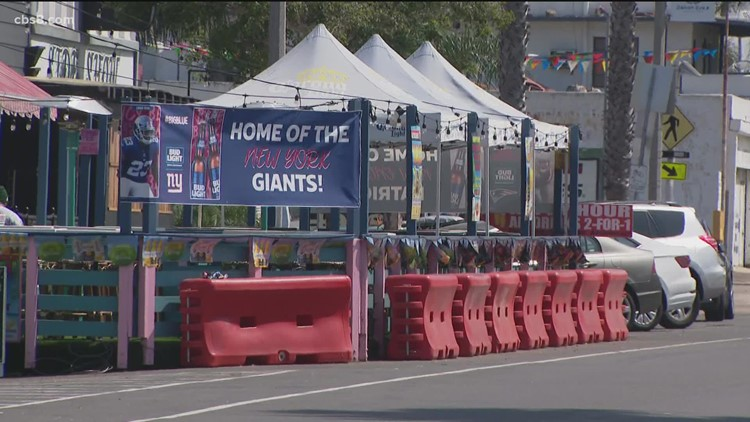 City of San Diego enforcing parklet violations for businesses with outdoor dining