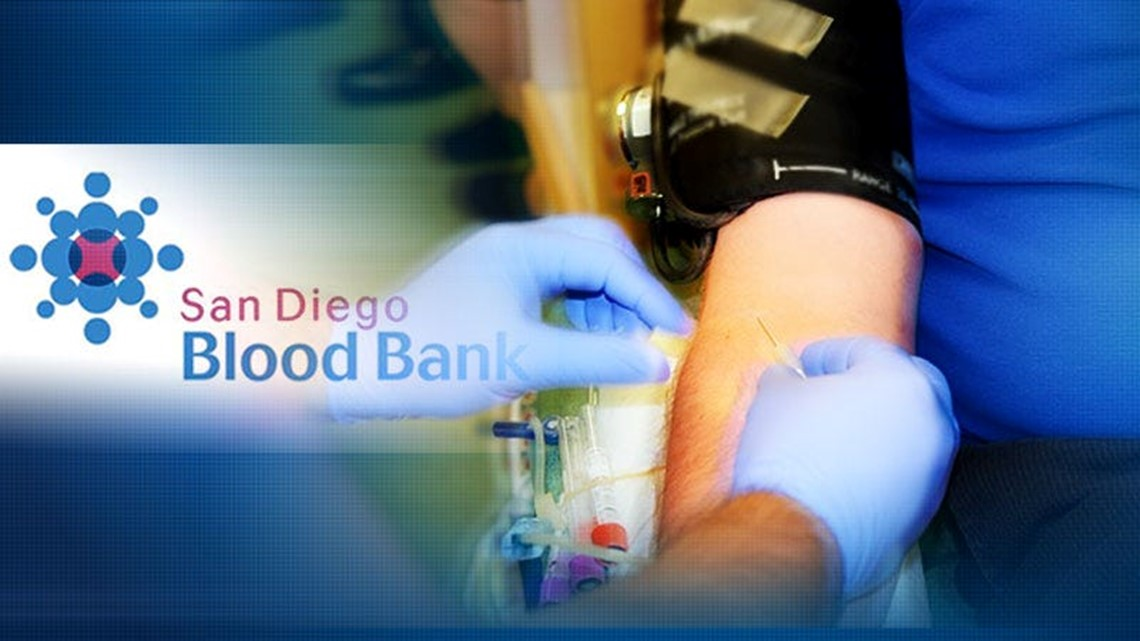 San Diego Blood Bank to kick off Easter weekend blood drive