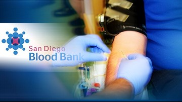 San Diego Blood Bank asks recovered COVID-19 patients to donate plasma