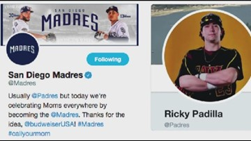 Padres fan takes over team's Twitter handle